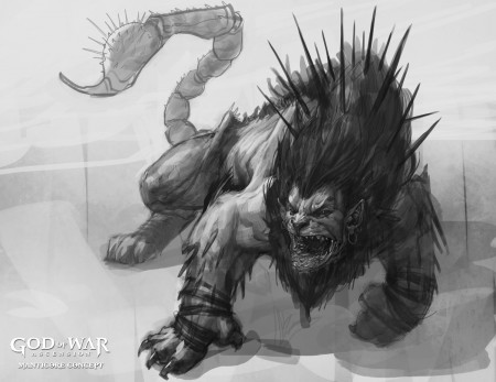 """Manticore Concept 6"" from Gods of War"